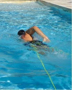 Aquavee portable swimmer
