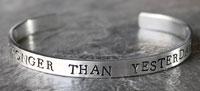 Health and Wellness stocking stuffer stronger bracelet