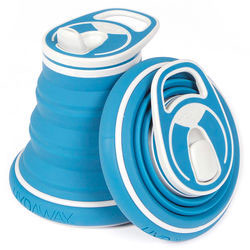 Health and Wellness stocking stuffer collapsible water bottle
