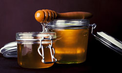 Honey helps energize and destress