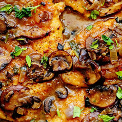 Healthy Versions of Google's Top 5 Recipe Searches of 2016 - Chicken Marsala