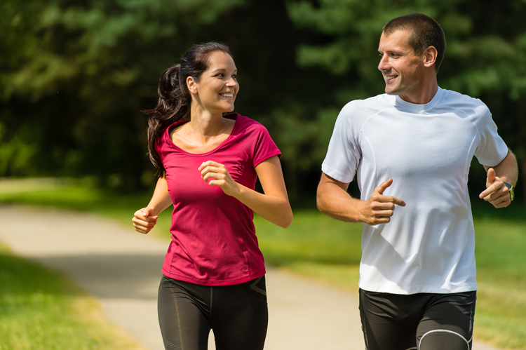 Exercise with your significant other significantly increases success