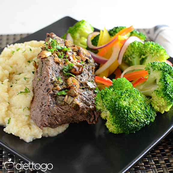 flat-iron-steak-vegetables