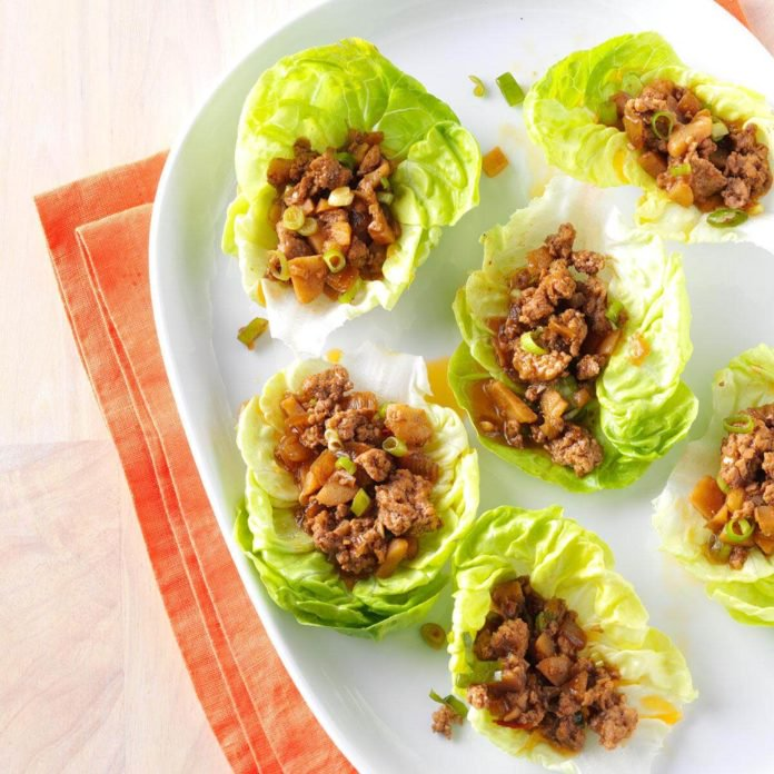ginger-pork-lettuce-wraps