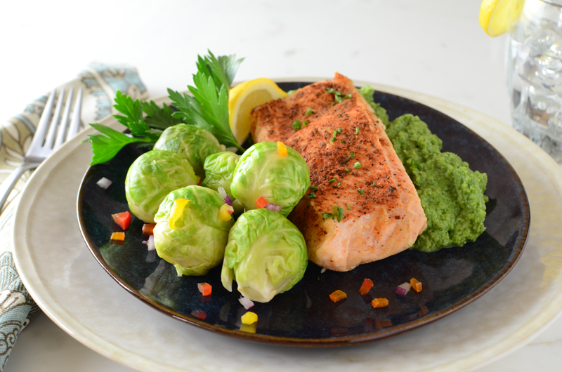 salmon-sprouts