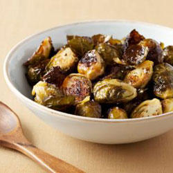 Healthy Roasted Brussels Sprouts