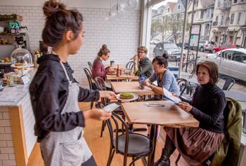 Top Healthy Restaurants In San Francisco Nourish Cafe 6 Café 189 6th Ave