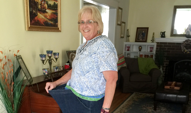 Tina lost 82 pounds with Diet-to-Go