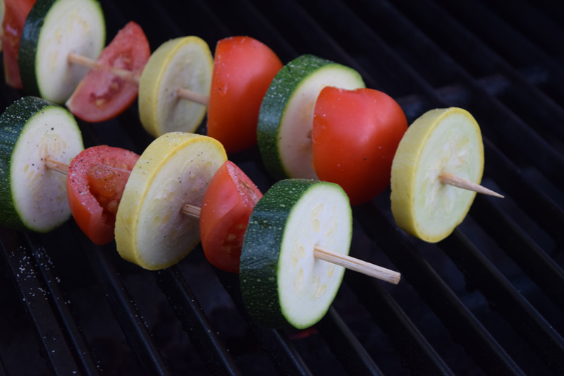 Healthy Vegetable Kabobs