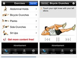 Mobile Monday: Ab Workouts Free mobile app review