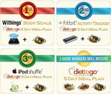 Enter Diet-to-Go's Spectacular Twitter Giveaway!