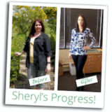 Sheryl's Weight Loss Success Came During Tough Times