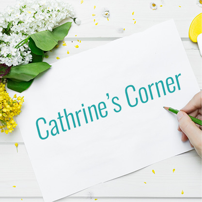 Cathrine's Corner: Pushing Through in March