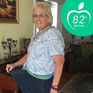 82 lbs lost