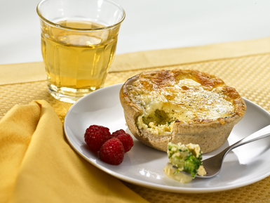 Egg & Broccoli Pie